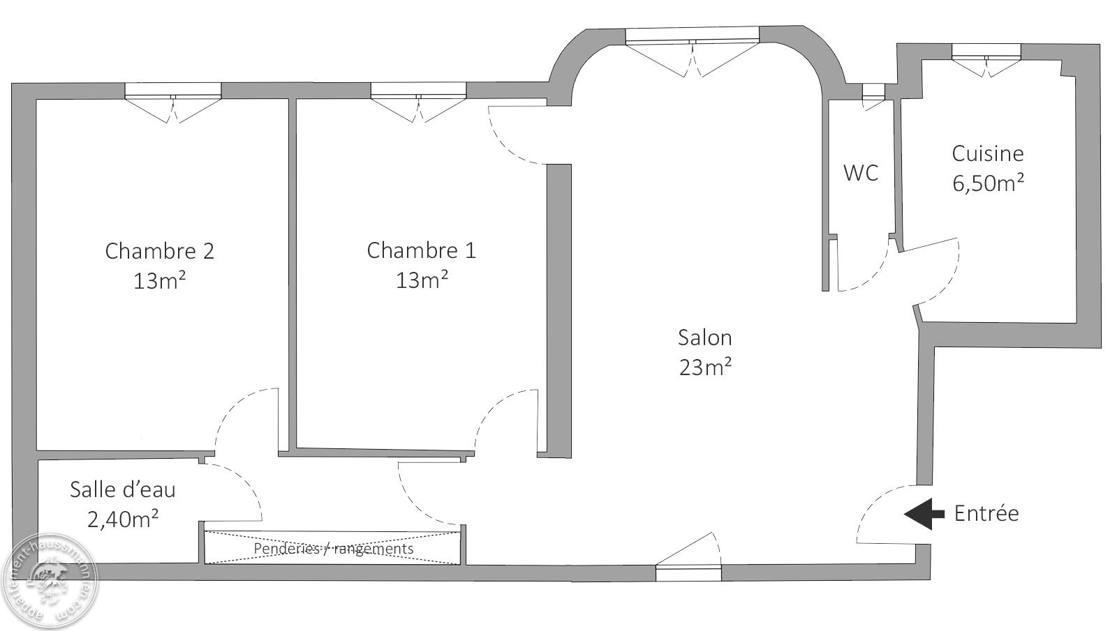 , Très bel appartement de charme, deux chambres